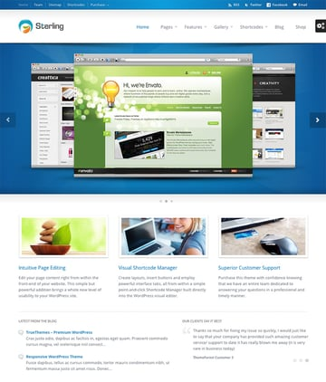 Sterling Corporate Business Site WordPress Theme
