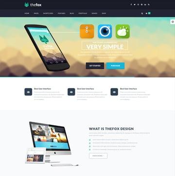 TheFox - Corporate Business WordPress Theme