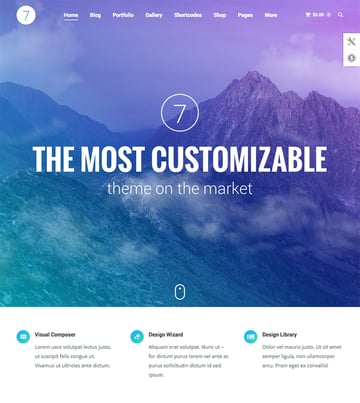 The7 - Corporate WordPress Theme for Business