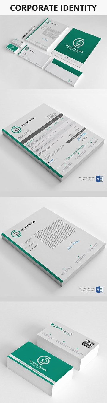 Corporate Identity Design Package