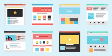 Squeeze page website designs