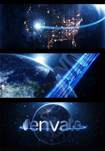 Earth After Effect Logo Animation