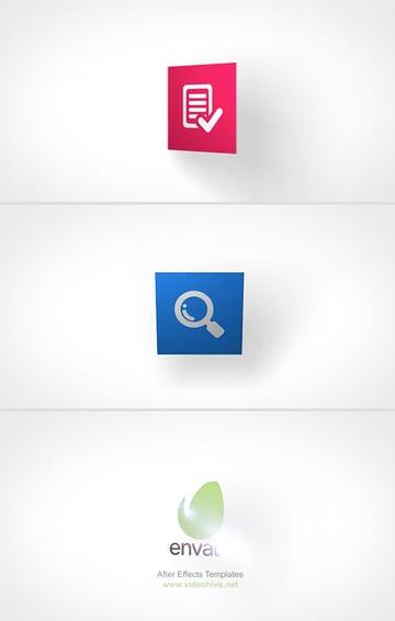 Minimalist Logo Video Reveal