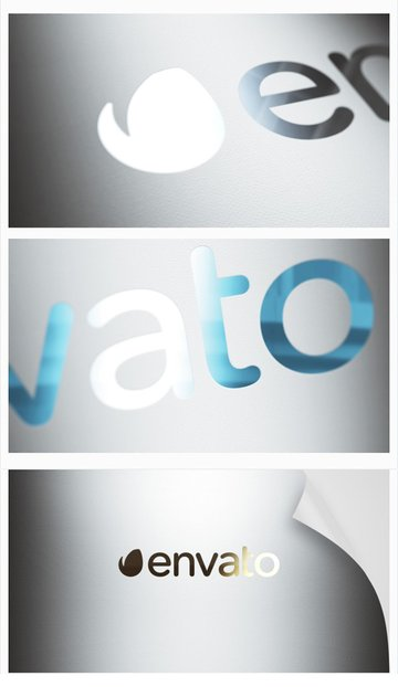 Realistic After Effect Animated Logo
