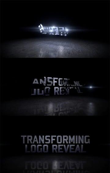 Transforming Motion logo animation reveal