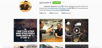Gary Vaynerchuck on Snapchat