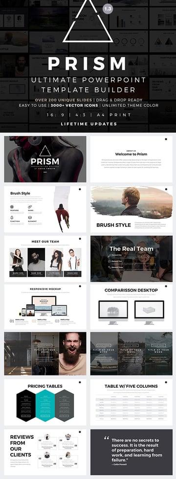 Prism - Modern PPT Template