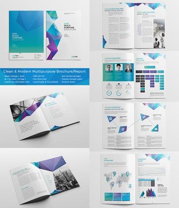 Clean Modern Multipurpose BrochureReport