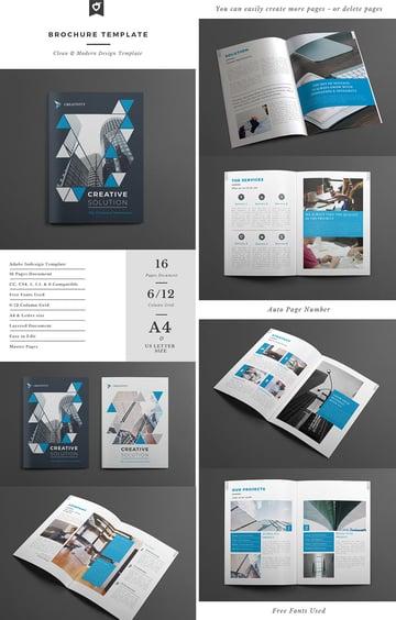 Creative Business Brochure Template INDD