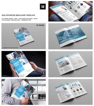 Multipurpose INDD Corporate Brochure