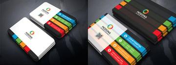 Colorful PSD Business Card Bundle
