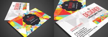 Creative Graphic Design Business Card
