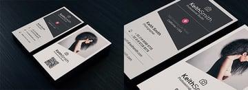 Unique Photoshop Business Card Design