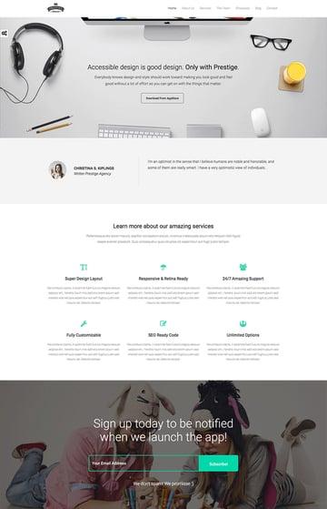 Multipurpose WordPress Landing Pages