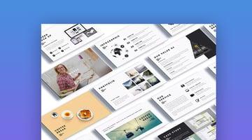 Moksa Creative Agency Template for PowerPoint Slide Ideas