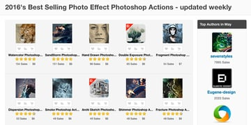 Best Photoshop Photo Effect Actions