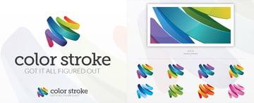 Creative Colorful Logo Design Template