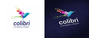 Colorful Logo Template for Creative Business