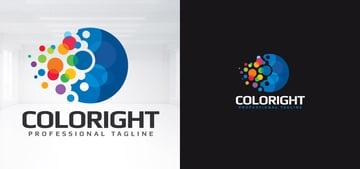 Digital Business Logo Template Design
