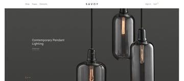 Savoy Minimalist WooCommerce Theme