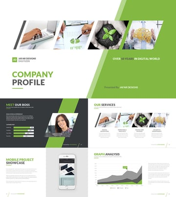 Company Profile PPT Template