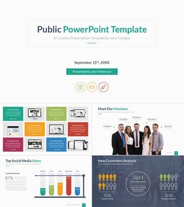 Public PPT Professional Template Design