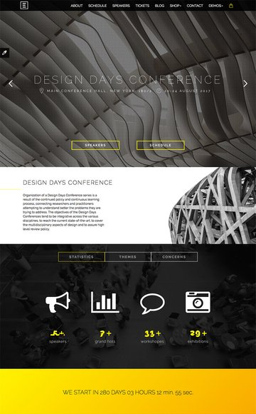 Eventime Conference Event WordPress Theme