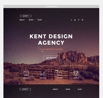 Kent MailChimp Template