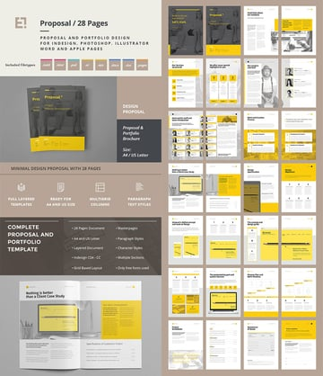 Creative Project Proposal Template Set