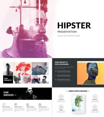Hipster Creative Google Slides Presentation Template