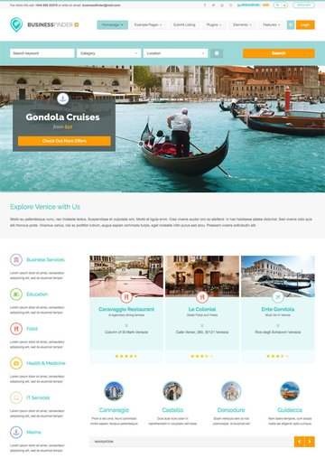 Business Finder Directory WP Theme