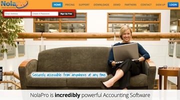 Nola Pro Powerful Online Accounting Software