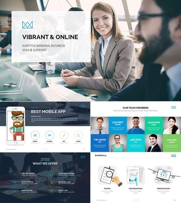 Best Business PowerPoint Template Design