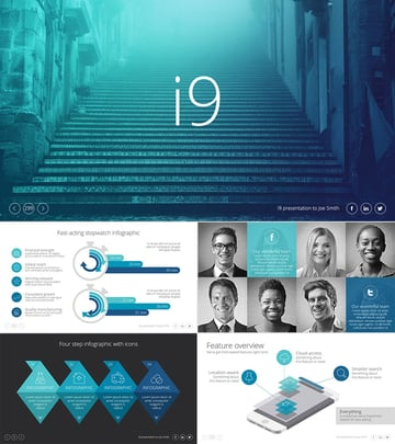 i9 Premium PPT Template Presentation Set