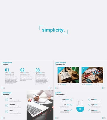 Simplicity Premium and Easy to Edit PowerPoint Template