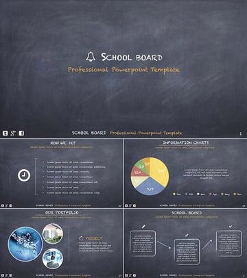 School Board Education PowerPoint Template