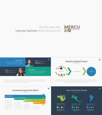 Mercurio PowerPoint Presentation Template Design