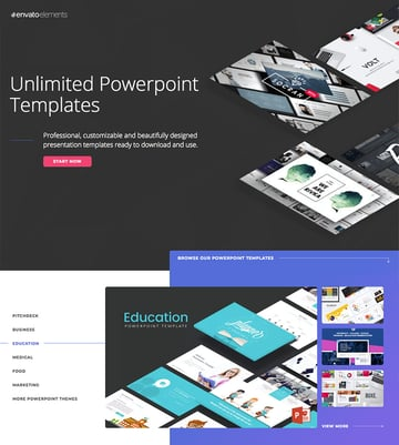 Education PowerPoint templates on Envato Elements - with unlimited access