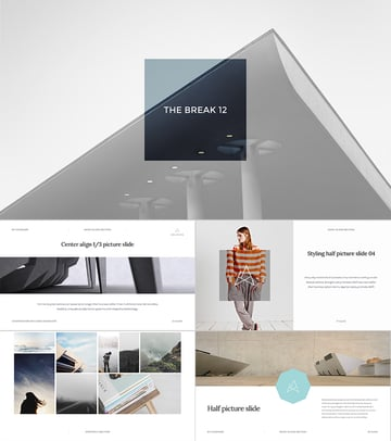 Balance Cool PPT Presentation Template Design