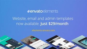 Envato Elements Unlimited Use templates