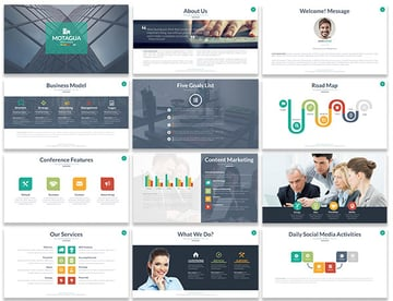 Motagua Interactive Animated Template for PowerPoint