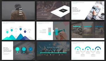 ONE - PowerPoint Presentation Template With Animated Version