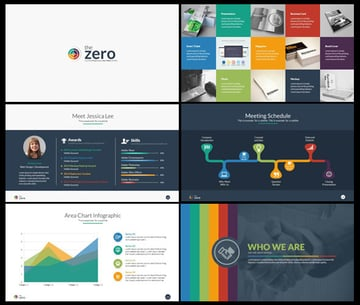 The Zero Infographic PowerPoint With Animated Slides