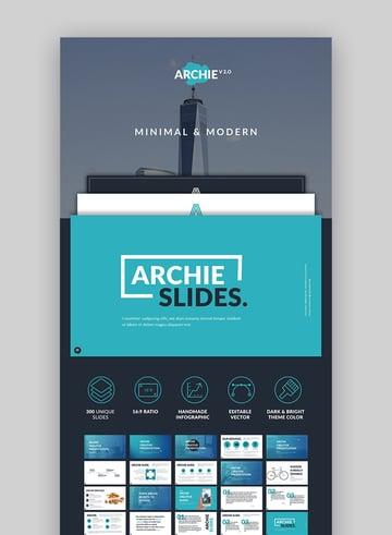 Archie Creative Google Drive Slide Design Set