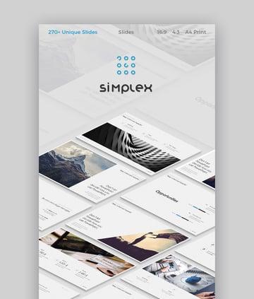 Simplex Slides Modernes Theme für Google Slides