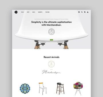 Merchandiser - Clean WordPress eCommerce Theme