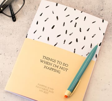 Fresh notebook product sold online