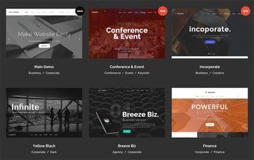 The best Premium WordPress themes offer versatile built-in design options