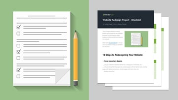 Website Redesign Project - Checklist Free PDF Download
