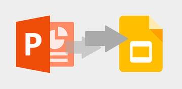 Convert PowerPoint to Google Slides format